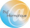 Phil informatique Logo